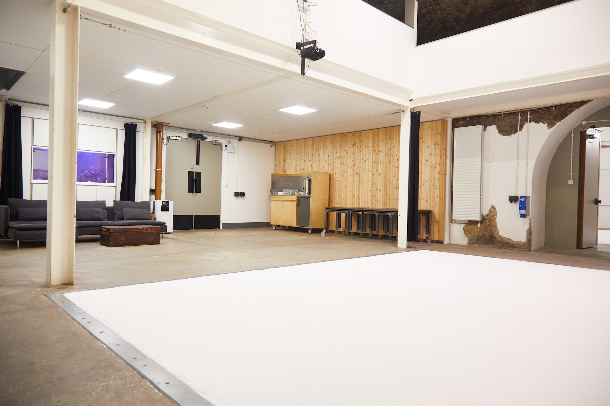 Blank canvas event space Shoreditch
