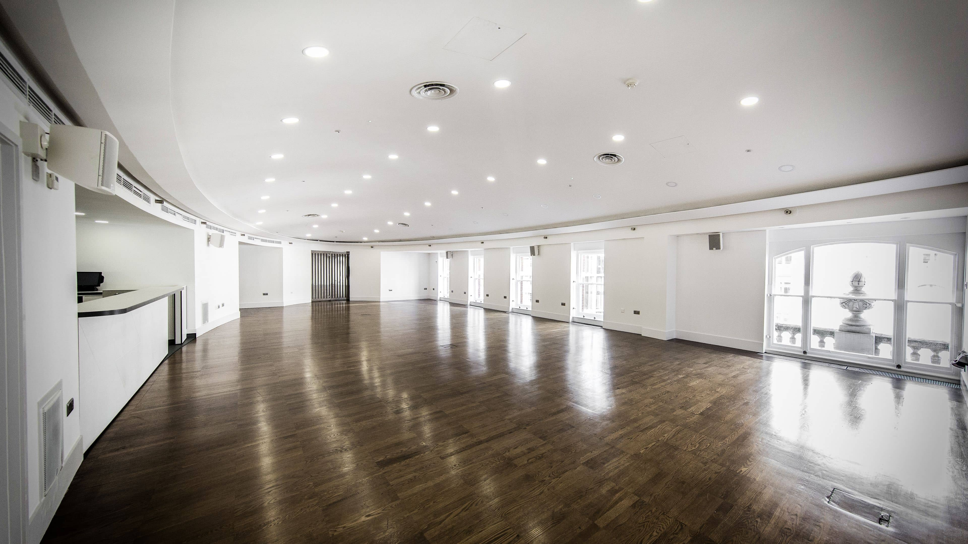 Luxury blank canvas venue london