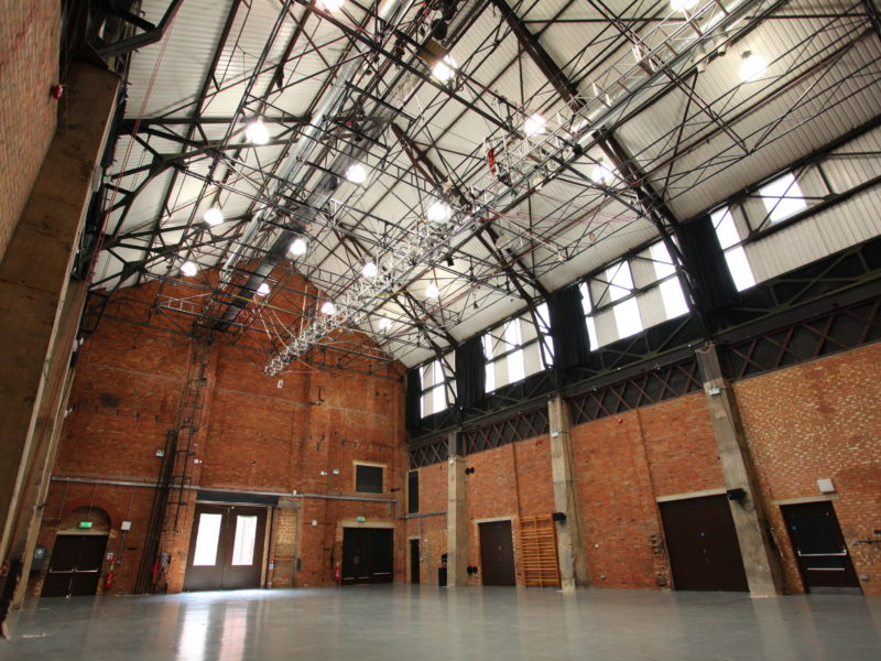 Blank Canvas circus venue London